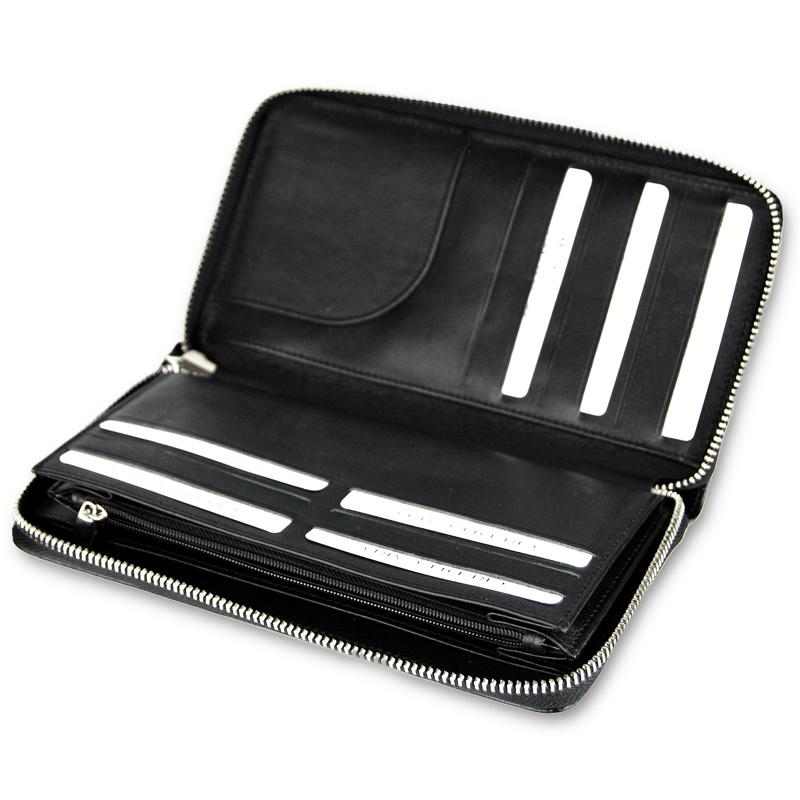 Кожаный бумажник для водителя