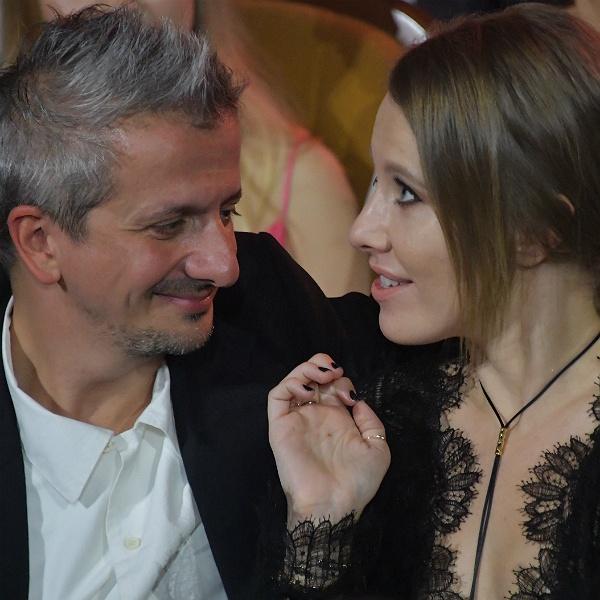 Ксения Собчак назвала дочь возлюбленного зайкой