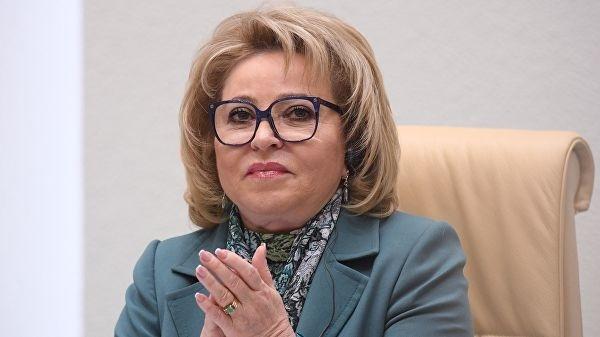 Валентину Матвиенко выдвинут в сенаторы от Петербурга