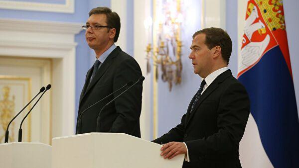 В Сербии Медведев проведет встречу с руководством страны