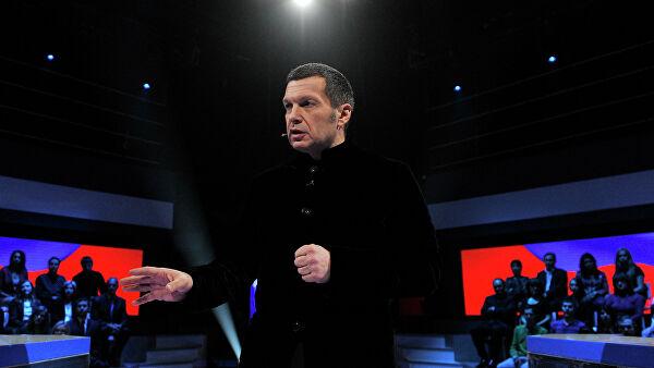 """Украинские политологи подрались в студии телеканала """"Россия 1"""""""