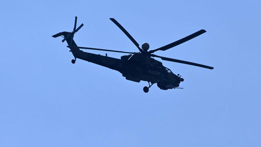 Найдены «черные ящики» разбившегося Ми-28