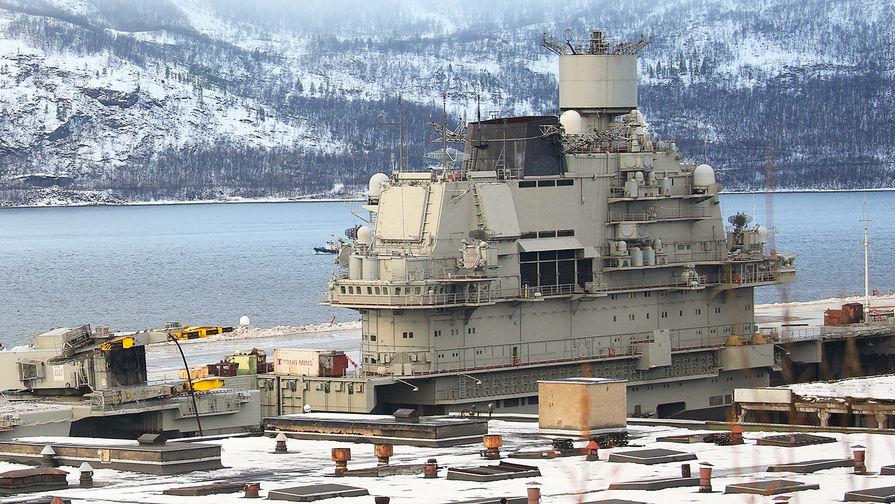 Авианосцу «Адмирал Кузнецов» нужен дополнительный ремонт