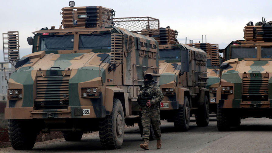 Турция отводит тяжелое вооружение со своих пунктов в Идлибе