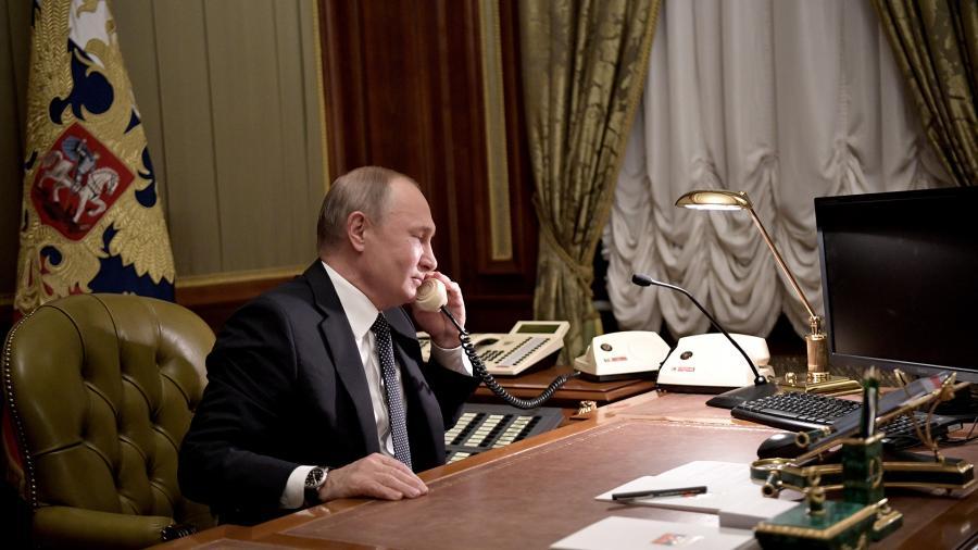 Путин и Конте обсудили меры борьбы с коронавирусом