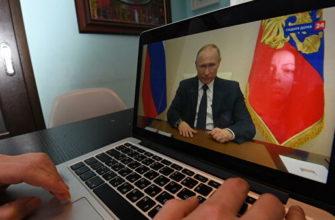Путин готовится к новому видеообращению к гражданам по коронавирусу