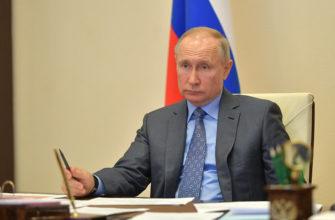 Путин делегировал право объявлять режим ЧС правительству