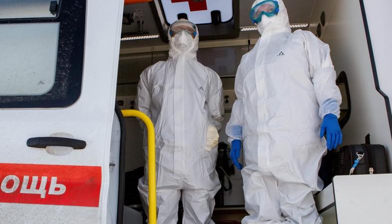 Выявленных заражённых за сутки в РФ достигло почти 5 тысяч человек