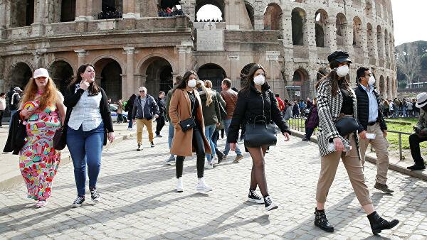В Италии зафиксирован спад количество инфицированных COVID-19