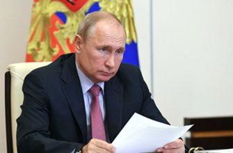 Путин назвал критику поправок в Конституцию странной