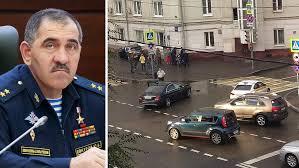 Замглавы Минобороны Евкуров попал в ДТП в центре Москвы