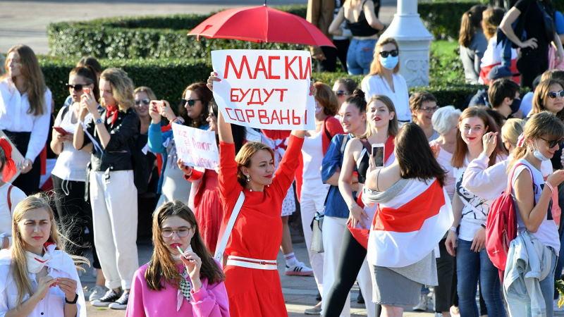 Хиллари Клинтон выразила поддержку женщинам Беларуси