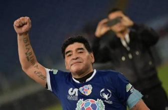 Легенды спорта уходят: скончался Диего Марадона