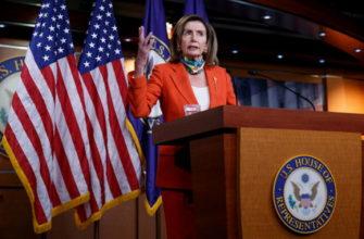 Нэнси Пелоси не исключила, что Трамп может развязать войну с ядерным ударом