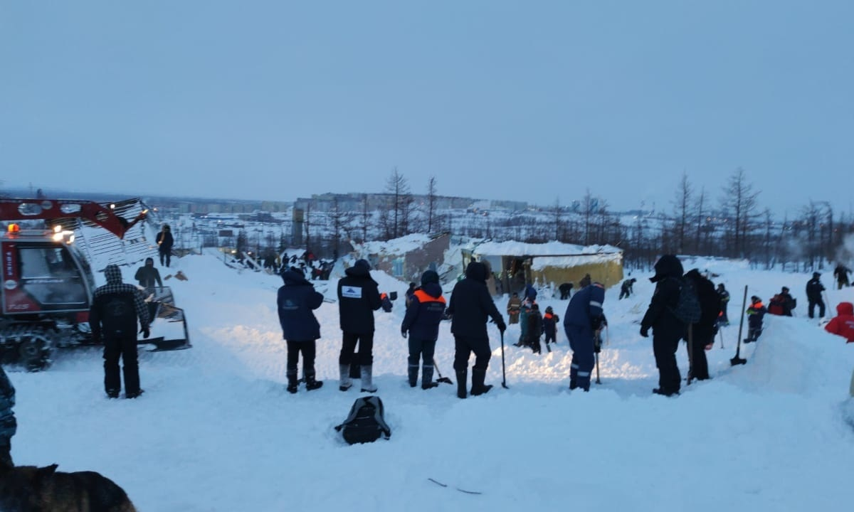 В Норильске завершены поисково-спасательные работы после лавины. Есть жертвы