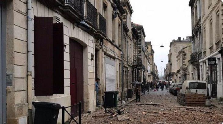 В Центре Бордо во Франции прогремел взрыв: есть пострадавшие