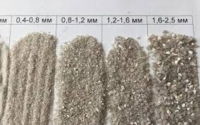 Кварцевый песок для очистки, подготовки и фильтрации воды