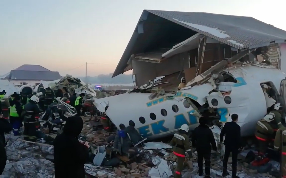 В Казахстане произошла авиакатастрофа с жертвами