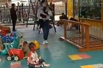 Резня в детском саду в Китае: пострадали 16 детей и двое воспитателей