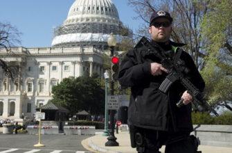 Капитолий снова пытались штурмовать: ранены полицейские