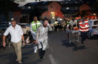 В Израиле во время молитвы в синагоге рухнула трибуна. Есть погибшие