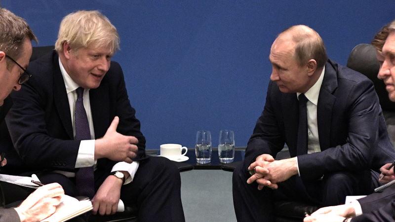 Песков заявил, что встреча Путина и Джонсона состоится, если того захочет Лондон