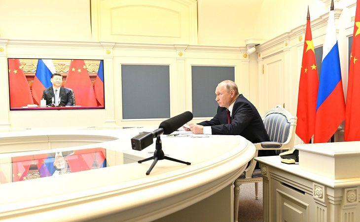 Путин с Си Цзиньпином выпустили совместное заявление
