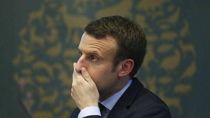 Президент Франции Макрон получил пощёчину на встрече с сотрудниками общепита