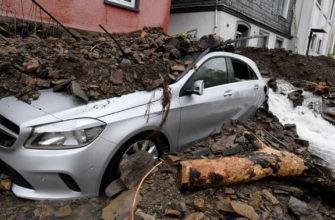 В Германии из-за наводнения введён режим военной катастрофы
