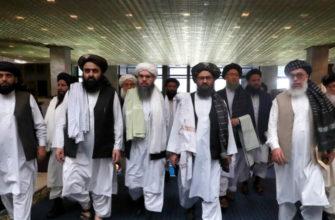 Талибы снова в Москве, они заявили, что контролируют почти весь Афганистан