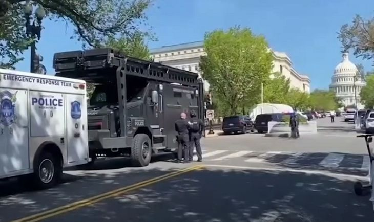 У Капитолия вновь инцидент: угроза взрыва бомбы